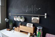 Mon bureau d'écrivain / Quand je serais grande... #bureau #deco #maison #agencement