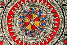 FOLK ART MADHBUNI ART INDIAN