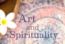 Art & Spirituality / Art by its very nature is spiritual. Real art, all truly meaningful art comes from the deepest recesses of the soul. We invite you to dive deep into Art & Spirituality with us this year.