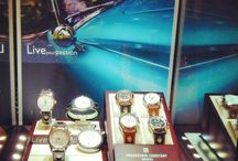 FRIENDS REUNITED AFTER 60 YEARS APART: AT BONHAMS - UK / The first time NOJ 392 and NOJ 393 have been seen in public since competing at the 1953 Le Mans 24 Hours supported by Swiss watch manufacture Frédérique Constant  Read more… http://blog.frederique-constant.com/friends-reunited-after-60-years-apart-1953-le-mans-24-hours-austin-healeys-meet-again-at-bonhams-uk/#more-3417