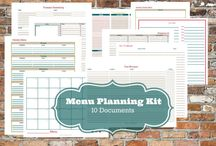 Household Binder Pages