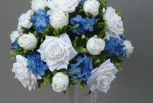 Table Centerpieces / Artificial flower centerpieces for weddings, celebrations, events