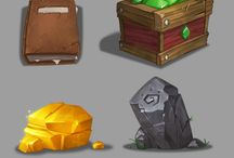 Icons, items, weapons