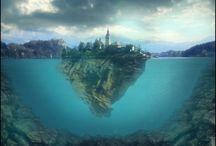 Island Of Lake Bled