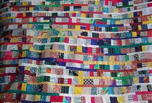 Recycled / Patchwork and Quilts from reclaimed fabrics. / by Red Pepper Quilts