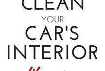 Cleaning Your Car