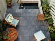 Intimate Spaces / Outdoor spaces of limited size
