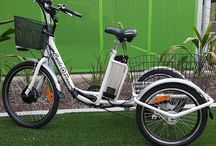Folding Electric Wheelchairs and electric pedal assisted bicycles & tricycles / Super light folding electric wheelchair.  Only 25 kg to lift into the boot. To find our more, contact Frank at cyclepower@bigpond.com