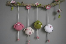 Crochet & knit baby accesories & toys