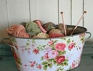 knitting...!!!