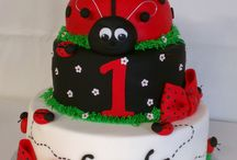 Lilly's birthday cakes