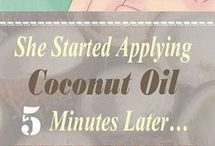 Cokkonøtt olje til ansiktet