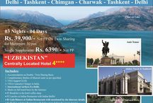 Taste of Tashkent / Taste of Tashkent 3N/4D at just Rs. 39,900/-PP* all inclusive. Book Now !!
