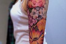 Flower tattoo / Flower tattoo