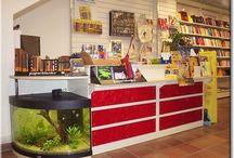 banconi e espositori per negozi