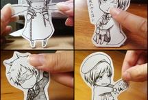 Anime cutouts
