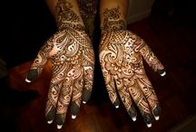 indian hand tattoo