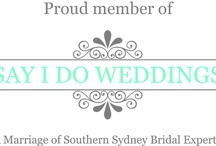 SAY I DO WEDDINGS / Mood board/ideas for SID Photo Shoot