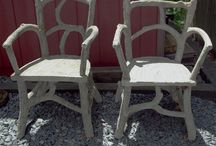 Faux Bois / love faux bois used sparingly in décor - inside and out