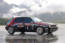 Rally auto's