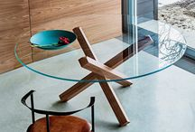 Glass and Wood Dining Tables
