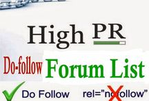 Full list of Hundreds of Do Follow High PR Forums for Backlinks 2017