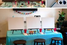 Wine and Canvas ideas