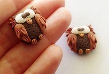 Polymer Clay: Owl