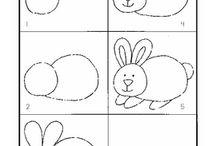 Opimme piirtämään