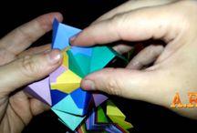 Kusudamas - Origamis / Vídeos Aulas