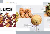 HC Design Work / Event brochures, menus, lookbooks, and more. Designed by Hawthorn Creative.