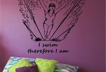 Swimming Decals