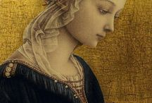 Madonna, Lady, Dame ..... /  'Unsere' Madonna, aber auch edle Damen der Kunstgeschichte, wunderbar gemalt, sind hier zu finden.