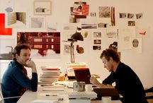 Ronan & Erwan Bouroullec / Before establishing their own design studio in 1999, Ronan and Erwan Bouroullec both studied at the École Nationale in Paris. Their collaboration with Vitra began in early 2000. Firstly designing office furniture,  they have made major contributions to the steadily growing Vitra Home Collection.