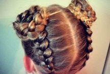 London's hair
