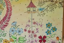 Secret garden / My own colorings