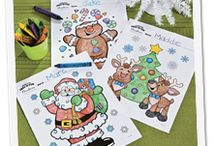 Christmas Coloring Pages / Great free coloring pages for Christmas.