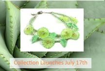 Lyn Foley: Desert Blooms Collection - Glass Jewelry / Magical Glass Flower Jewelry to acknowledge your vibrancy and enhance your beauty.