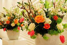 Floral Creations / Creaties met bloemen en planten