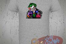 Camisetas de Marvel, DC y Comics