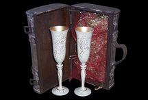 Wedding Sets / Toasting Flutes by Clarity