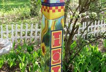 peace pole art