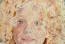 Aquarel portret kinderen / Aquarel portret kinderen