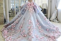 floral / princess dresses