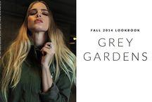 "2014 Fall Lookbook ""Grey Gardens"" / www.shopatimage.com  2014 Fall lookbook"