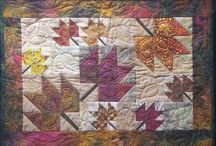 Quilts from On Point Quilter Patterns / Quilts made from patterns written by Kari Schell.