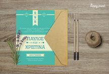 wed_invi_1 / Create your own custom wedding invitation with this elegant template featuring. All you have to do, is change the existing text in Greek or in English with your own details!