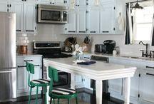 Home - kitchens / by Morgan Ellington Kem