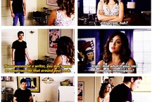 Ezria (PLL) / So so so so so cute together!!!!