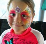 Girls Face Paint Designs / Gorgeous Girly Face Pain Designs
